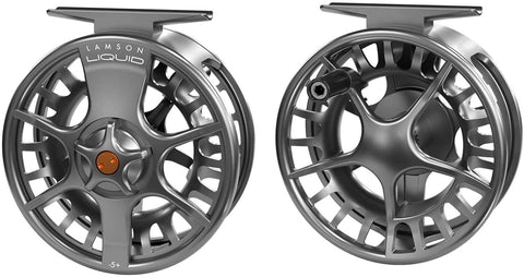 Lamson Liquid Fly Reel Smoke