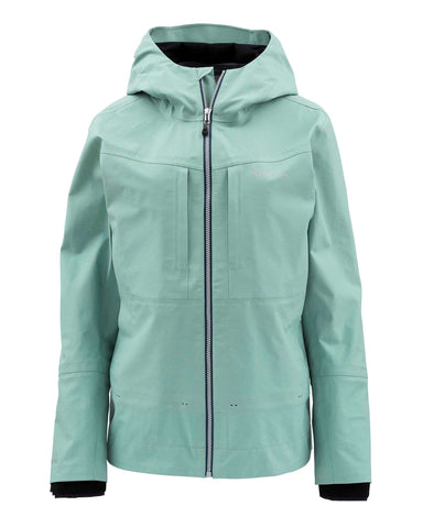 Simms Women's G3 Guide Wading Fishing Jacket - Seafoam