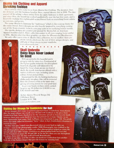 Rebel Ink Magazine (issue 12)