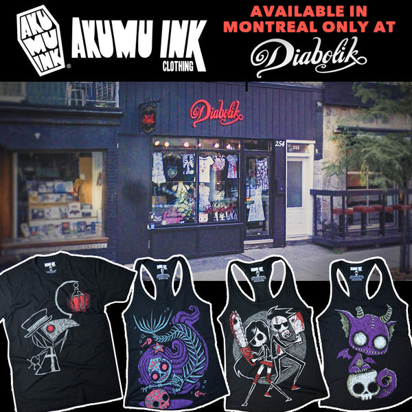 Montreal Shop :: Boutique Diabolik