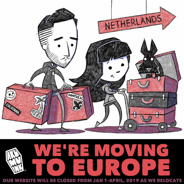 We're Moving to the Netherlands!