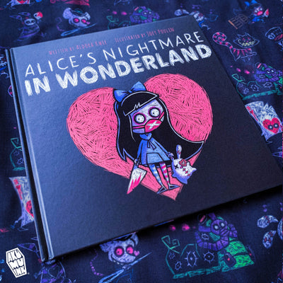 Our Second Book :: Alice's Nightmare in Wonderland