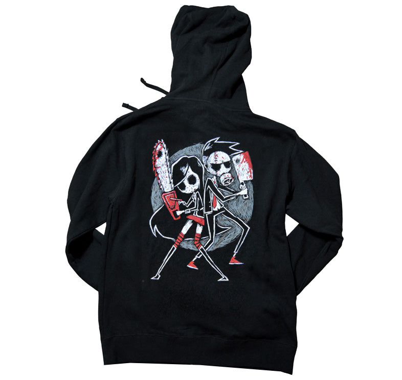 Akumu Ink Us vs. Them Unisex FLEECE Hoodie