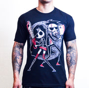 Akumu Ink goth Men Shirts, skull Men Shirts,