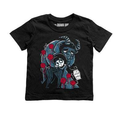 Misery and The Beast Kids Tee, tshirt, Akumu ink, goth, emo