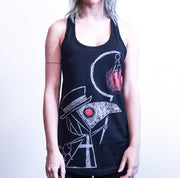 Akumu Ink Plague Seeker Women Tanktop, Women Shirts, Akumu ink, goth, emo