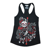 Akumu Ink Eternal Ride Women Tanktop, Women Shirts, Akumu ink, goth, emo