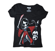 Akumu Ink The Last Tokyo Women Scoop Tee, Women Shirts, Akumu ink, goth, emo