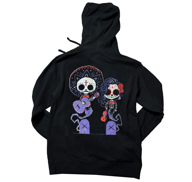 Akumu Ink Timeless Union Unisex FLEECE Hoodie, long sleeve, Akumu ink, goth, emo