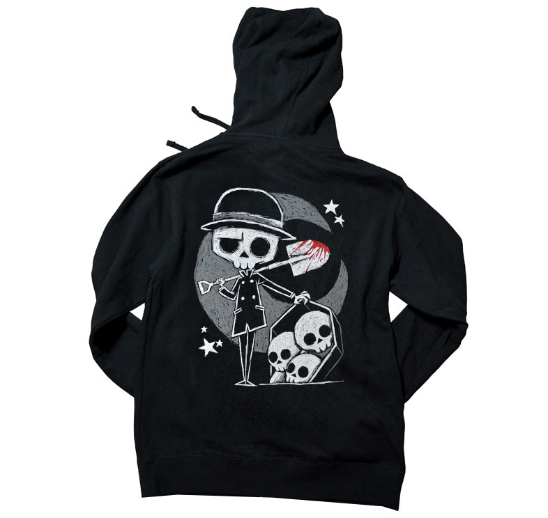 Akumu Ink The Gravedigger Unisex FLEECE Hoodie