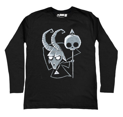 Baphomet Men Long Sleeve Tshirt
