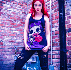 Akumu Ink My Monster Women Tanktop, Women Shirts, Akumu ink, goth, emo