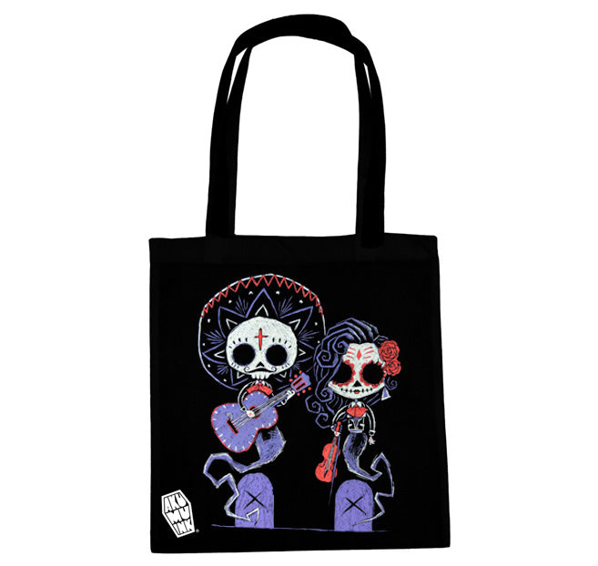 Akumu Ink Timeless Union Tote Bag, bag, Akumu ink, goth, emo
