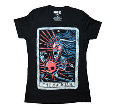 Akumu Ink The Magician Women Tshirt, Women Shirts, Akumu ink, goth, emo