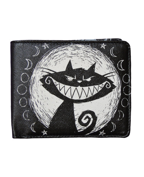 Akumu Ink We're All Mad Here Bi-fold Wallet