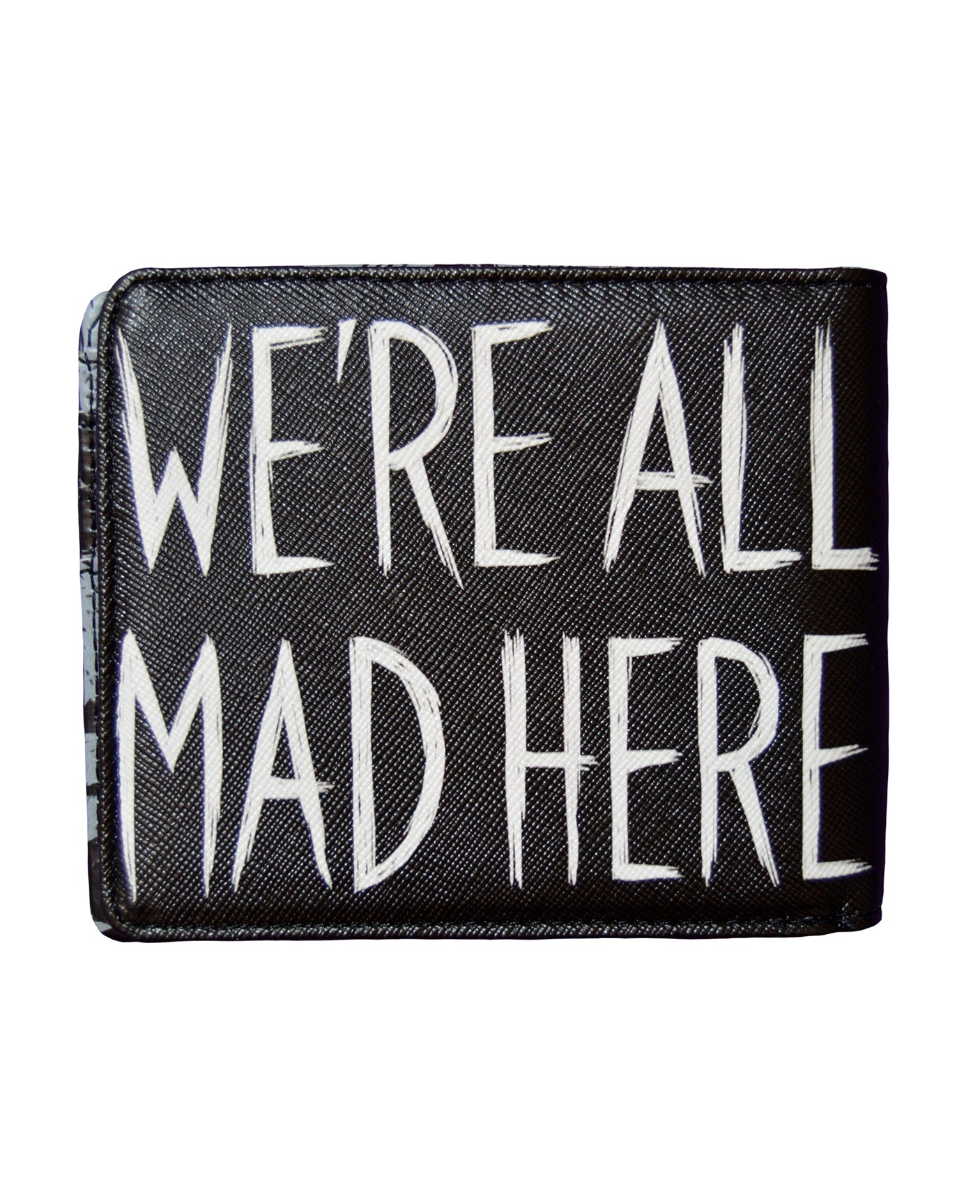 Akumu Ink We're All Mad Here Bi-fold Wallet, Accessories, Akumu ink, goth, emo