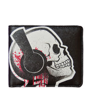 Akumu Ink Tone Death Bi-fold Wallet, Accessories, Akumu ink, goth, emo