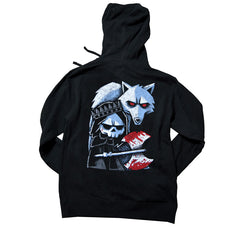 Akumu Ink Conquer Thy Enemy Unisex FLEECE Hoodie, long sleeve, Akumu ink, goth, emo