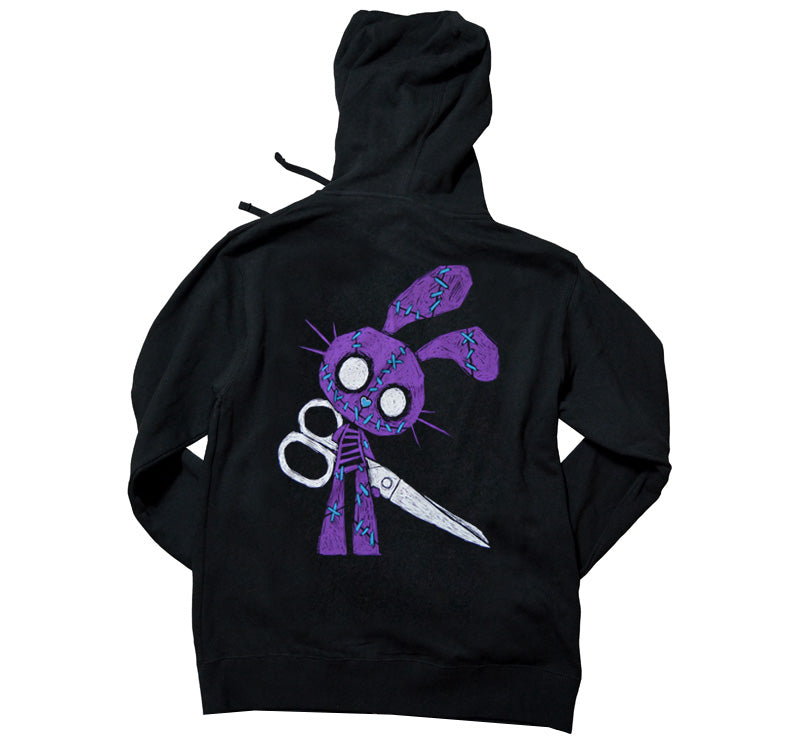 Akumu Ink Let's Play Unisex FLEECE Hoodie
