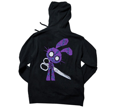 Akumu Ink Let's Play Unisex FLEECE Hoodie, long sleeve, Akumu ink, goth, emo