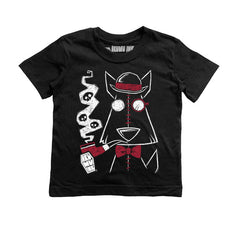 On The Case Kids Tee, tshirt, Akumu ink, goth, emo