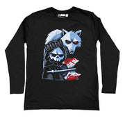 Conquer Thy Enemy Men Long Sleeve Tshirt, Men Shirts, Akumu ink, goth, emo