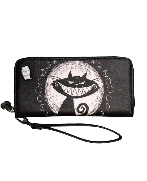 Akumu Ink We're All Mad Here Long Wallet
