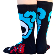 Akumu Ink The Culprit Unisex Socks, Accessories, Akumu ink, goth, emo