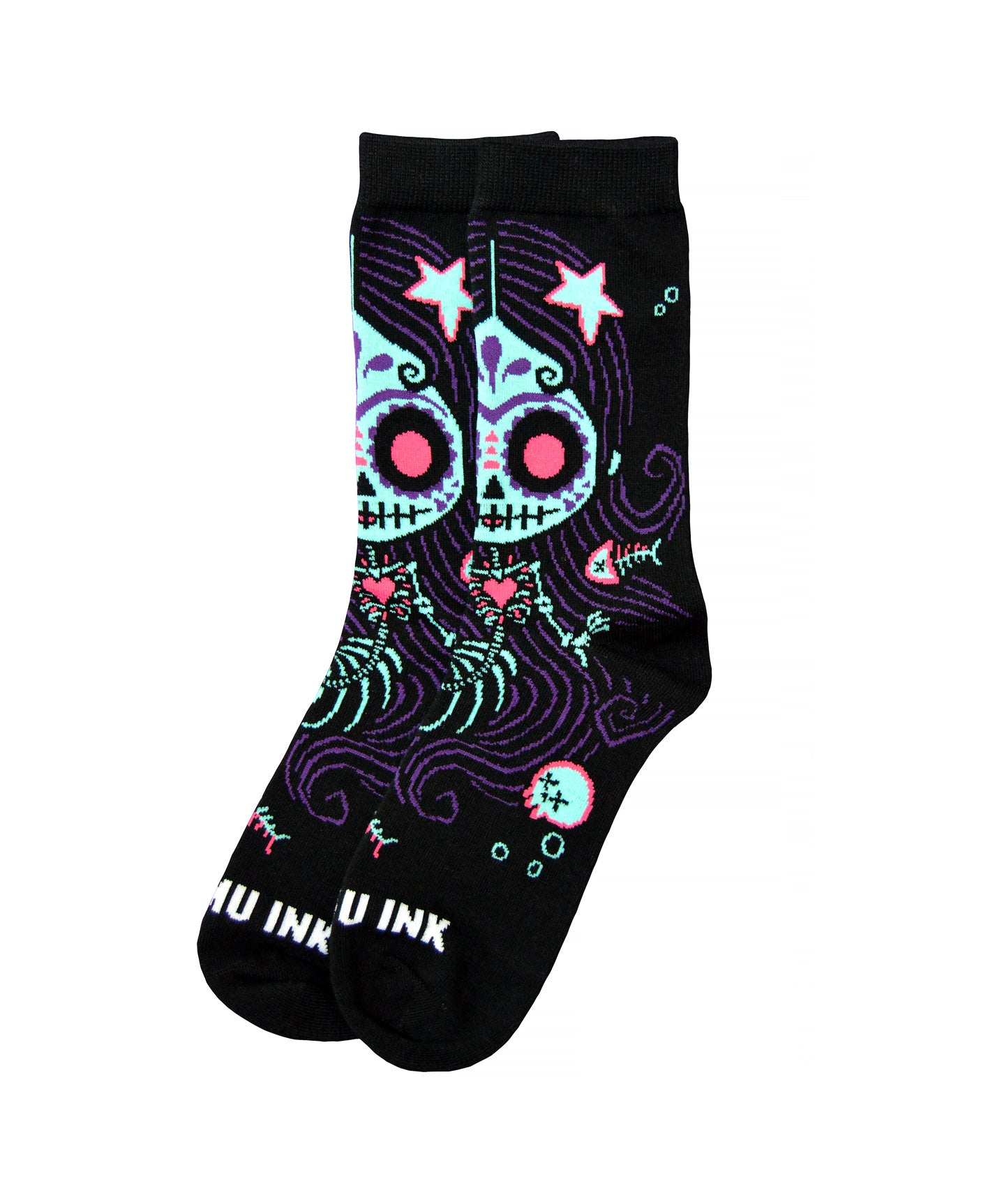 Akumu Ink La Sirena Unisex Socks, Accessories, Akumu ink, goth, emo