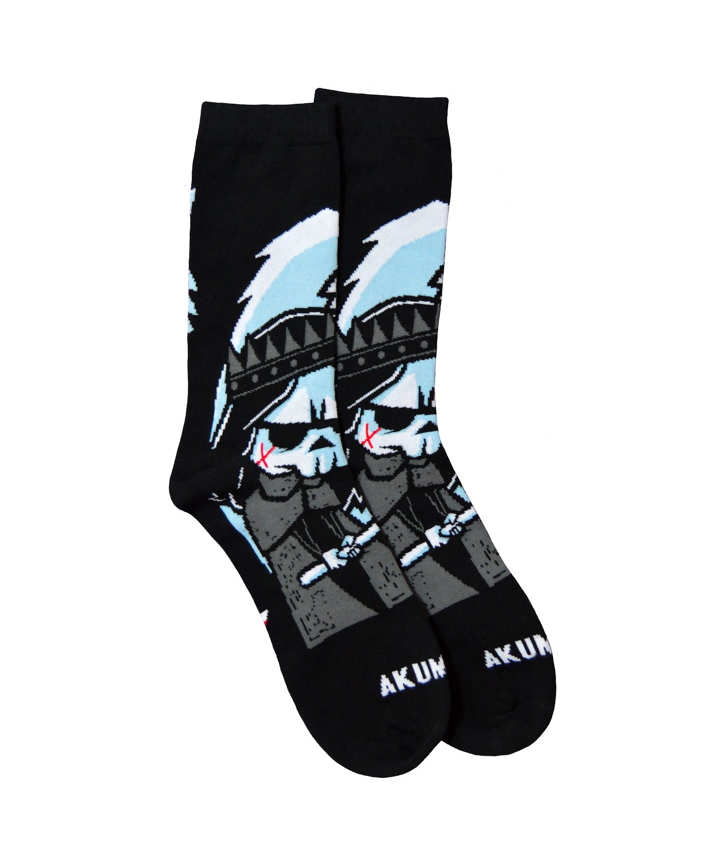 Akumu Ink Conquer Thy Enemy Unisex Socks, Accessories, Akumu ink, goth, emo