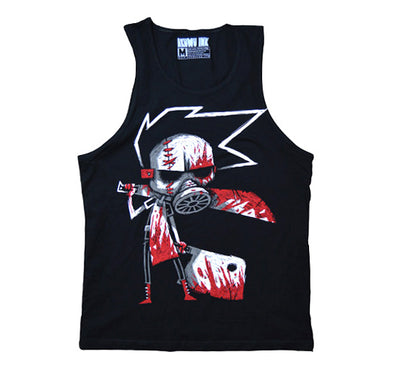 Akumu Ink Butcher III: The Reckoning Men Tank, Men Shirts, Akumu ink, goth, emo