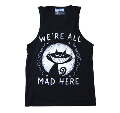 Akumu Ink We're All Mad Here Men Tank