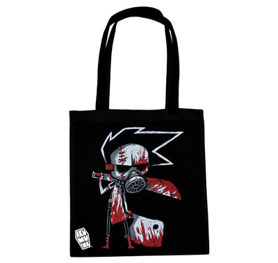 Akumu Ink Butcher III Tote Bag, bag, Akumu ink, goth, emo