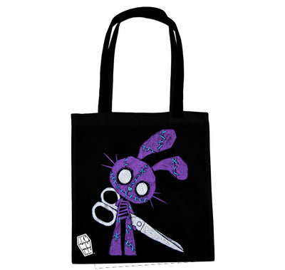Akumu Ink Let's Play Tote Bag, bag, Akumu ink, goth, emo