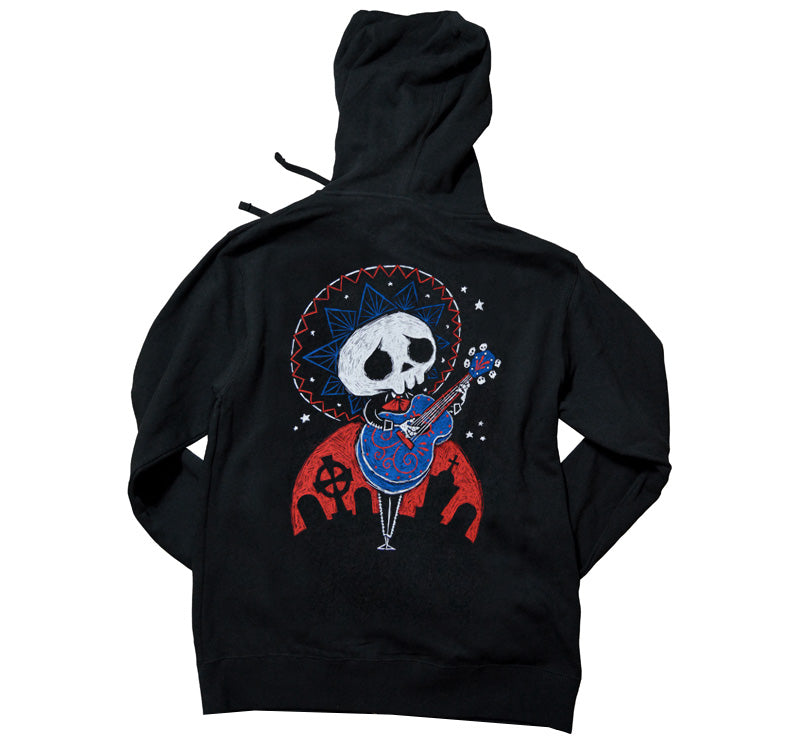 Akumu Ink Serenading The Dead Unisex FLEECE Hoodie