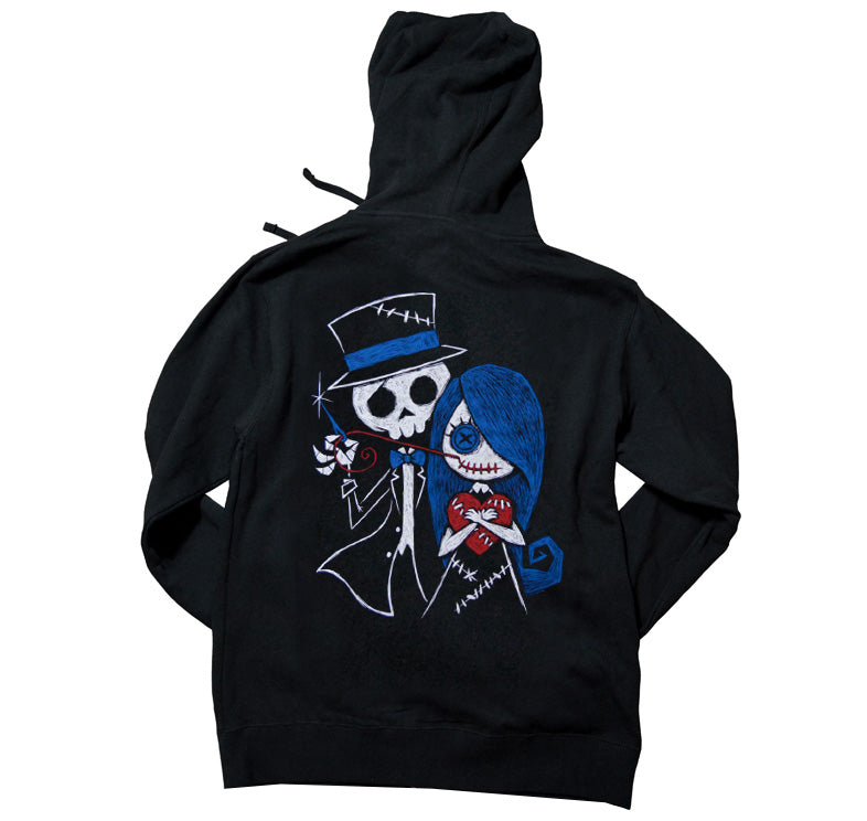 Akumu Ink Stitch Me A Smile Unisex FLEECE Hoodie