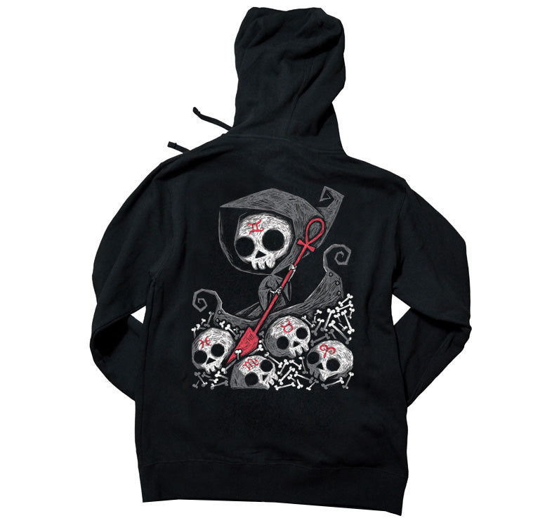 Akumu Ink Infernal River Unisex FLEECE Hoodie