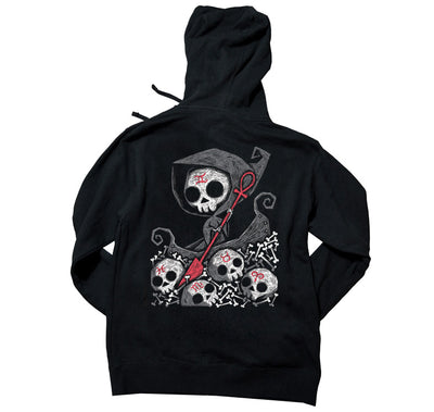 Akumu Ink Infernal River Unisex FLEECE Hoodie, long sleeve, Akumu ink, goth, emo