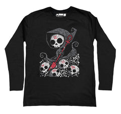 Infernal River Men Long Sleeve Tshirt, Men Shirts, Akumu ink, goth, emo