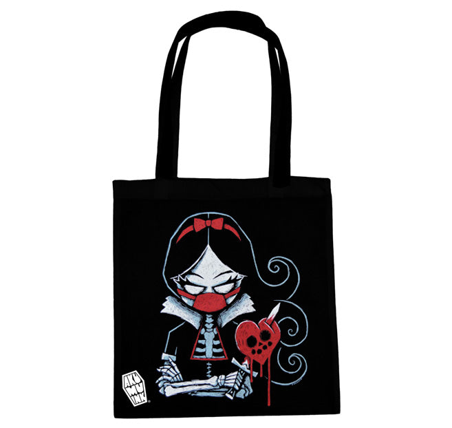 Akumu Ink Revenge is Sweet Tote Bag, bag, Akumu ink, goth, emo