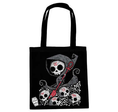 Akumu Ink Infernal River Tote Bag, bag, Akumu ink, goth, emo