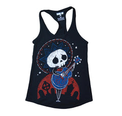 Akumu Ink Serenading The Dead Women Tanktop, Women Shirts, Akumu ink, goth, emo