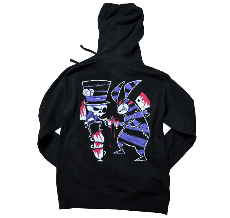 Akumu Ink Tea Party Unisex FLEECE Hoodie