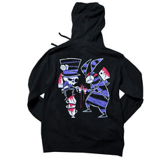 Akumu Ink Tea Party Unisex FLEECE Hoodie, long sleeve, Akumu ink, goth, emo