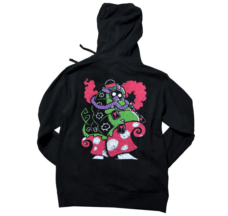 Akumu Ink The Caterpillar's Collection Unisex FLEECE Hoodie, long sleeve, Akumu ink, goth, emo