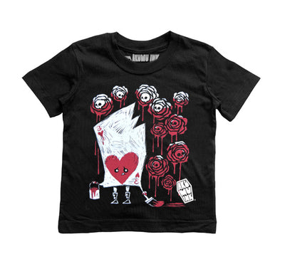 Painting The Roses With Blood Kids Tee, tshirt, Akumu ink, goth, emo