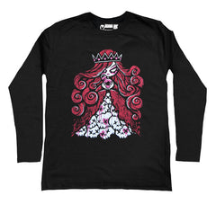 Queen of Bleeding Hearts Men Long Sleeve Tshirt, Men Shirts, Akumu ink, goth, emo