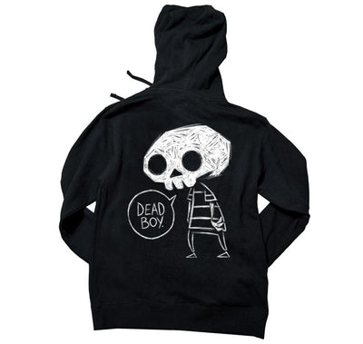 Akumu Ink Dead Boy Unisex FLEECE Hoodie, long sleeve, Akumu ink, goth, emo