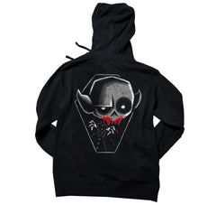 Akumu Ink Blood Thirst Unisex FLEECE Hoodie, long sleeve, Akumu ink, goth, emo