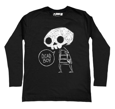 Dead Boy Men Long Sleeve Tshirt, Men Shirts, Akumu ink, goth, emo